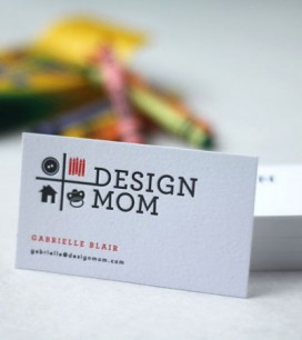 Business cards letterpress cards for design mom and maggie colourmoves