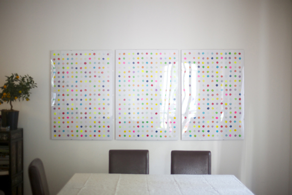 Potato Print Artwork   Cool Home Decor Wall Art Ideas for You to Craft   wall art   decorative wall art