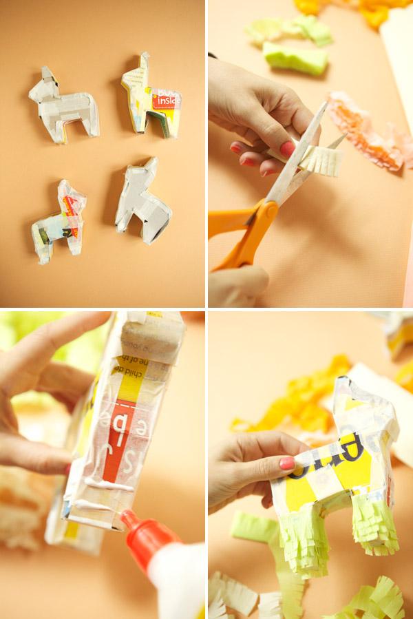 photo regarding Donkey Pinata Template Printable identify Mini Piñatas Do-it-yourself
