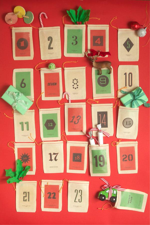 Advent Calendar Diy Template : Advent calendar iron on free printable