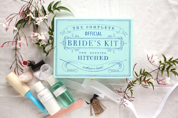 Gift For Bride From Bridesmaids Day Of Wedding : bridekit1
