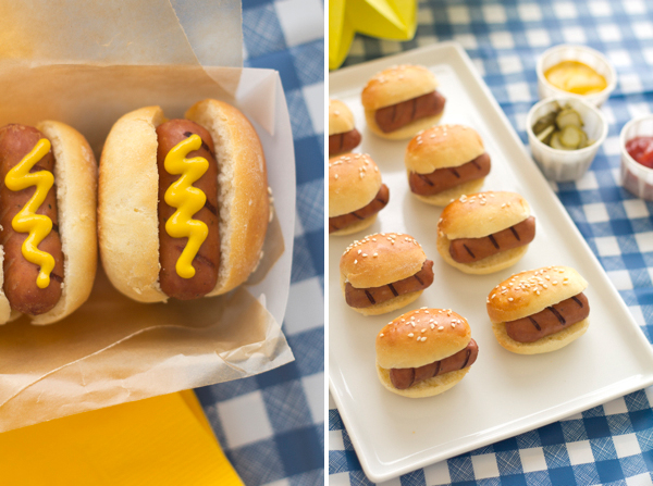 Bbq Mini Hot Dogs Recipe