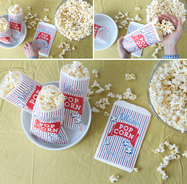 Styled eats food for an outdoor movie night - Como hacer palomitas de maiz ...