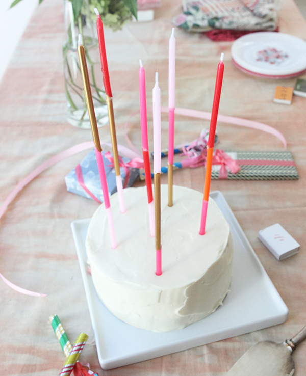 Super Long Taper Candles DIY | Oh Happy Day!