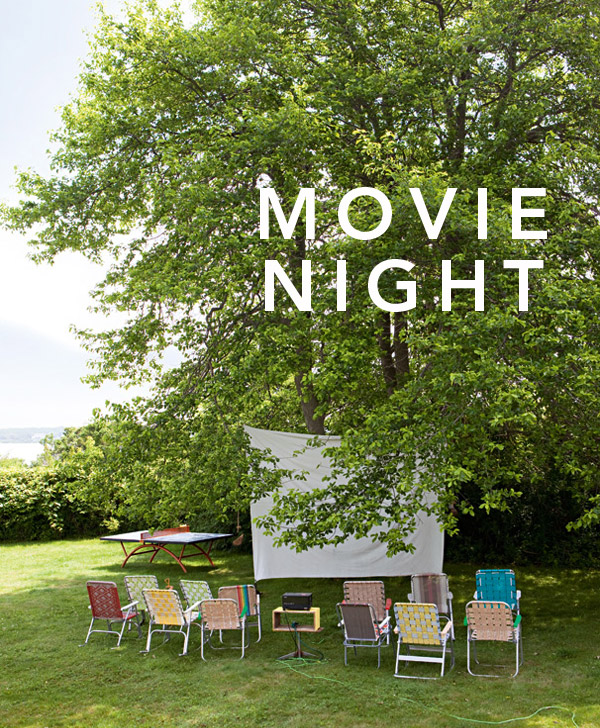5 Tips for a Backyard Movie Night | Oh Happy Day!