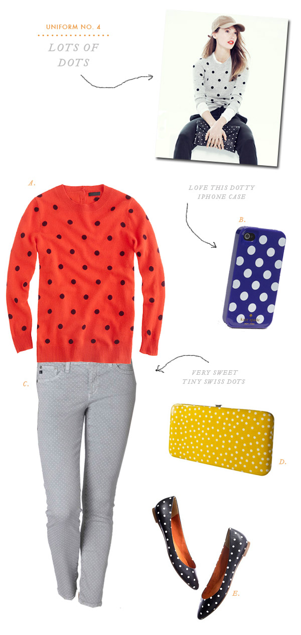 Uniform No. 4: Lots of Dots | Oh Happy Day!