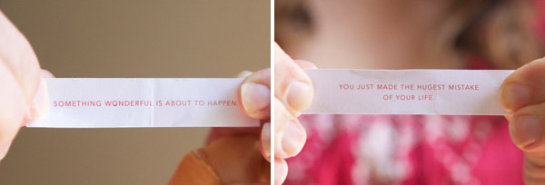 fortune cookies sayings