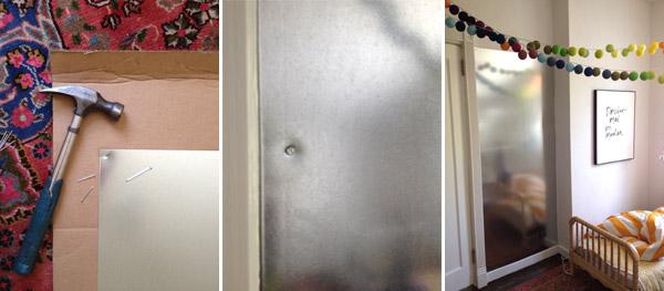 Metal Sheeting For Walls magnet wall diy