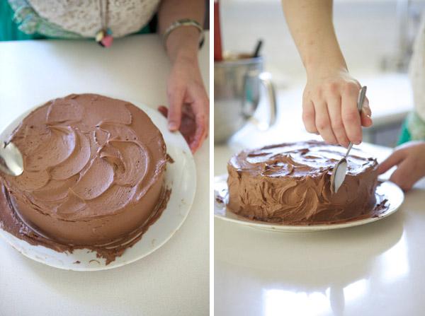 Freezing Cakes To Decorate