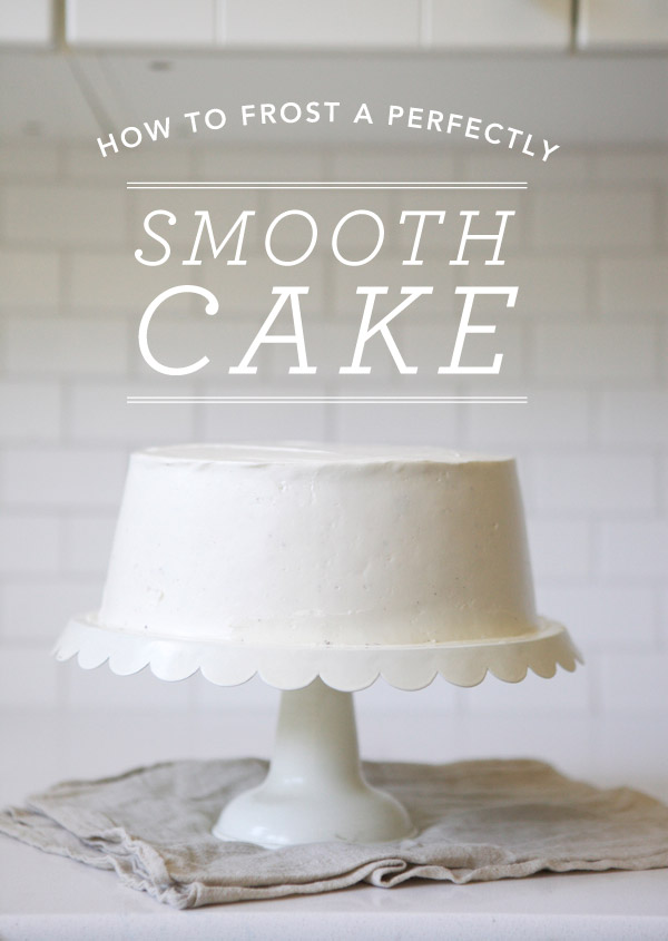 Styled Eats How To Frost A Perfectly Smooth Cake