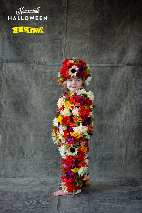 To Make a Field of Flowers Costume