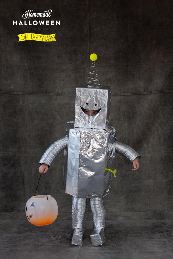 Костюм робот как сделать