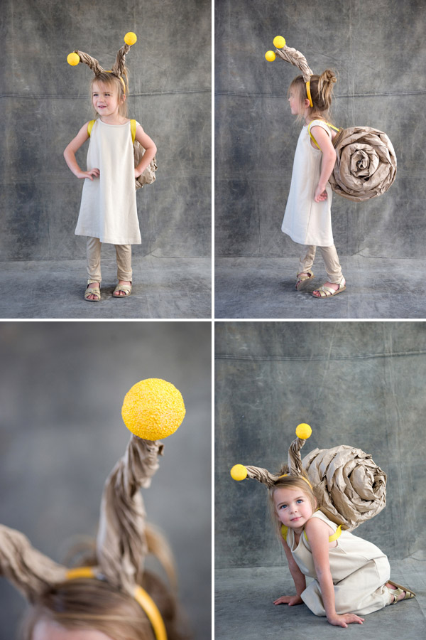 Snail costume it is a pretty simple process just try not to leave a trail of slime on the jaunt around the neighborhood for candy find the full instructions right here solutioingenieria Images