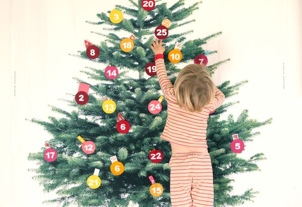 Diy Giant Calendar : Giant advent calendar diy