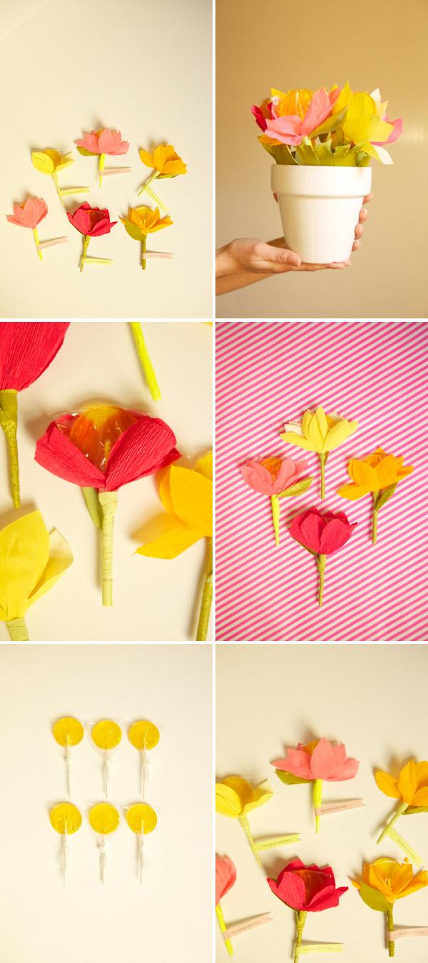 Цветочек на палочке