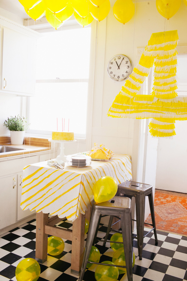 My Party Closet: Yellow Party