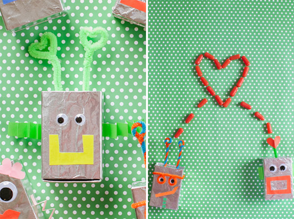 Robot Valentine Boxes