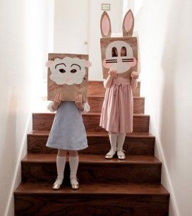 Brown Paper Sack Masks