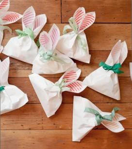 Bunny Ear Bags DIY | Oh Happy Day!