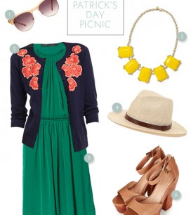 Clothes to Party In: St. Patrick's Day Picnic | Oh Happy Day!