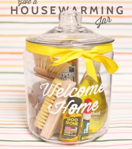 Housewarming Jar DIY | Oh Happy Day!