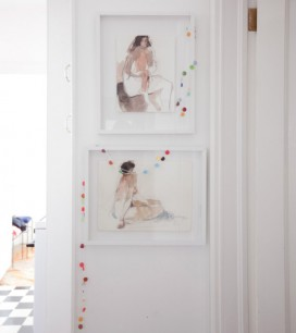 Floating Frame DIY | Oh Happy Day!