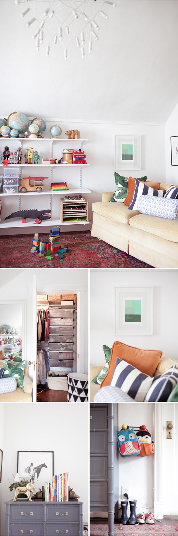 Our 500 Sq Ft Apartment: The Kids Room