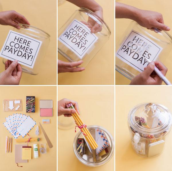 New Job Jar DIY