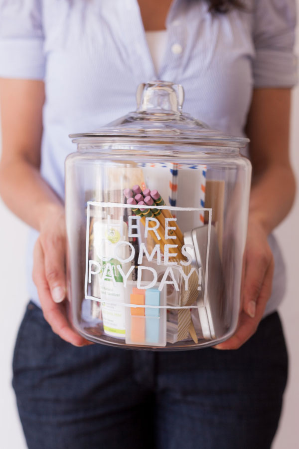 New Job Jar DIY