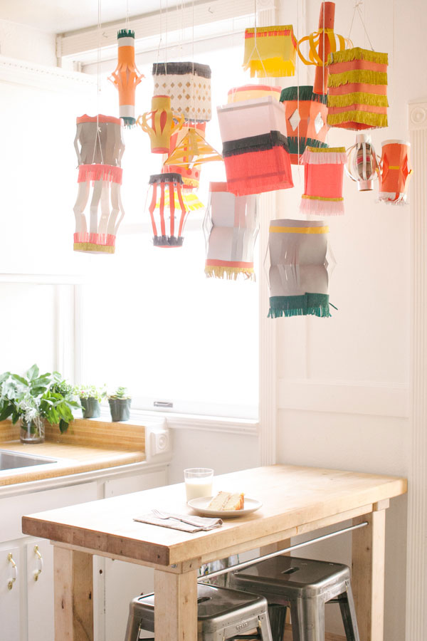 Homemade Paper Lantern DIY