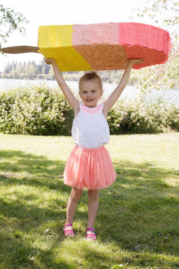 Giant Popsicle Pinata DIY