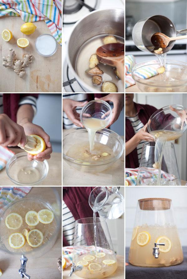 Flavored Lemonade: 3 Ways