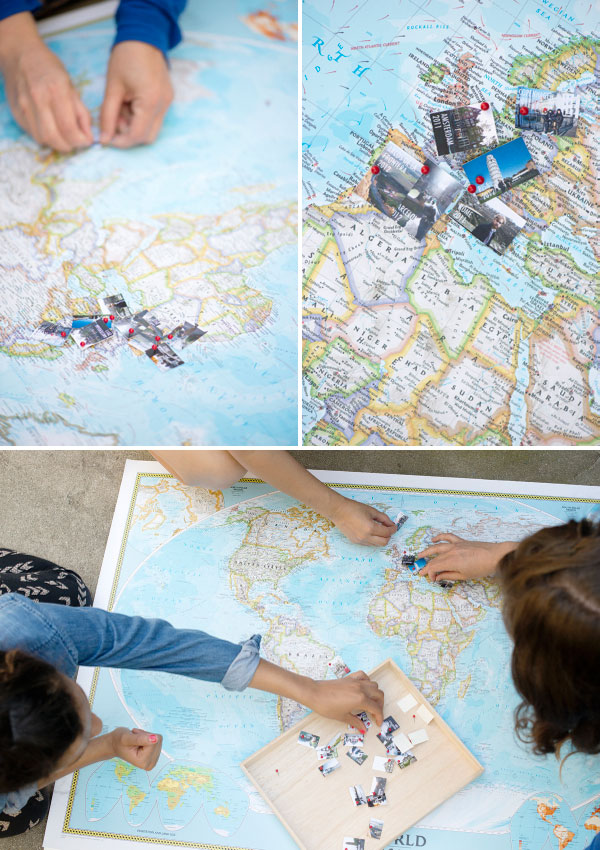 Travel Memory Map DIY – Track Travel Map