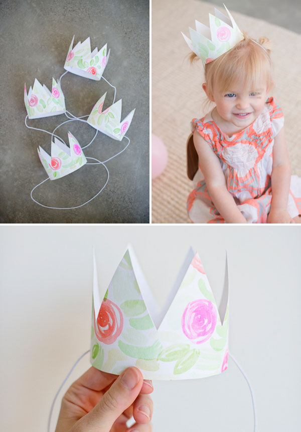 flower crown instructions printable