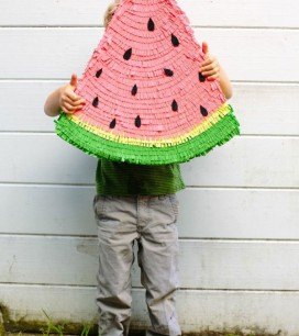 Watermelon Pinata DIY | Oh Happy Day!