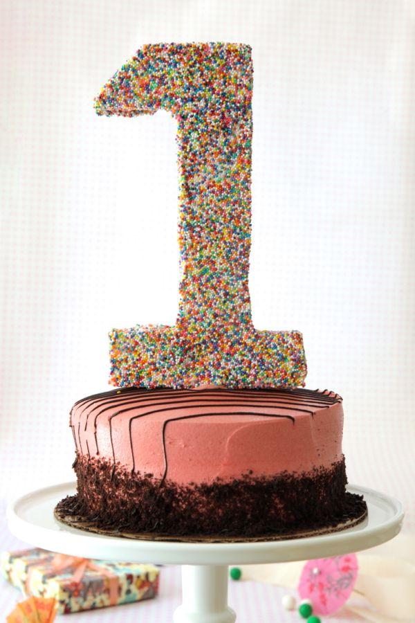 1 cake topper diy