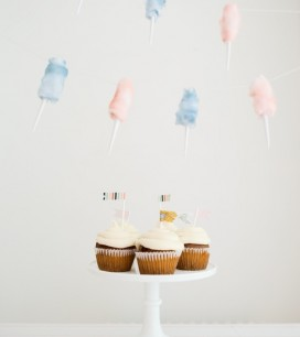 Cotton Candy Garland | Oh Happy Day!