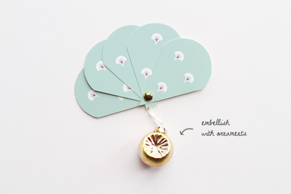 Mini Paper Fan Printables