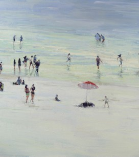Paul Ferney Beach Painting