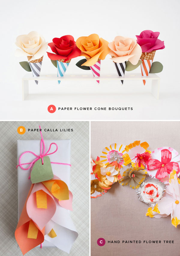 Paper flower crafts mightylinksfo