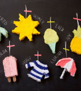 Mini Pinata Party Favors DIY | Oh Happy Day!