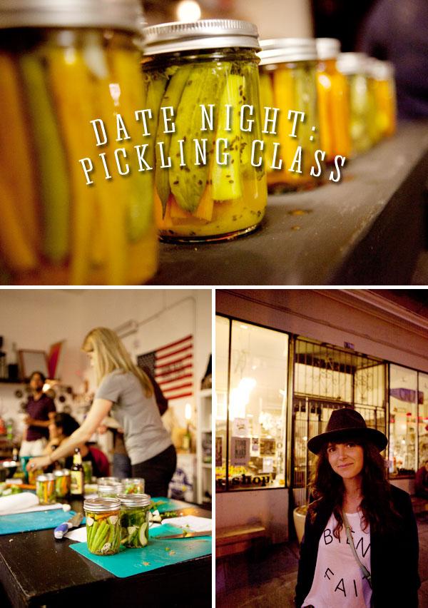 A Pickling Date #datenight #howaboutwe