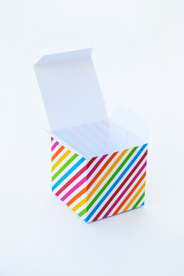 Geometric Gift Boxes | Oh Happy Day!