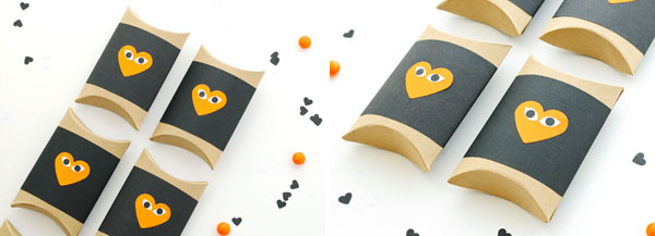 Halloween Heart Face Box DIY | Oh Happy Day!