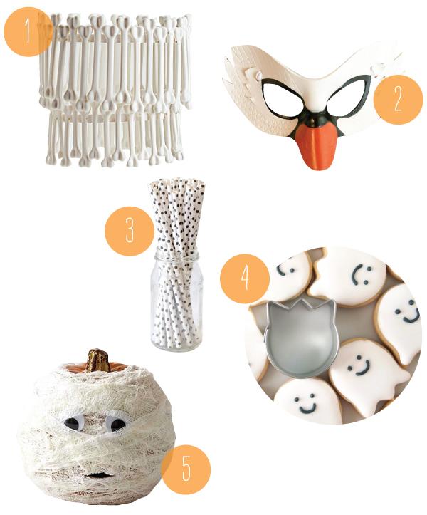 Halloween Whites | Oh Happy Day!