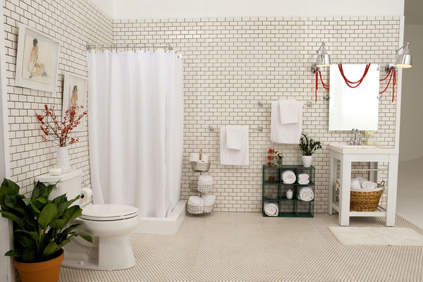 Lowe's Deck the Halls: The Bathroom