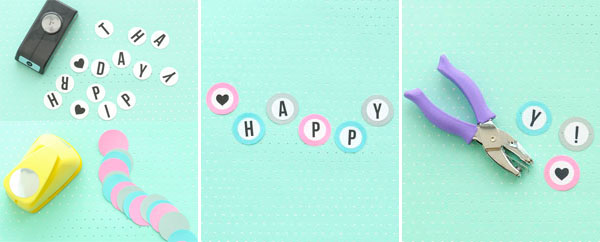 Happy birthday banner box diy happy birthday banner box oh happy day solutioingenieria Image collections