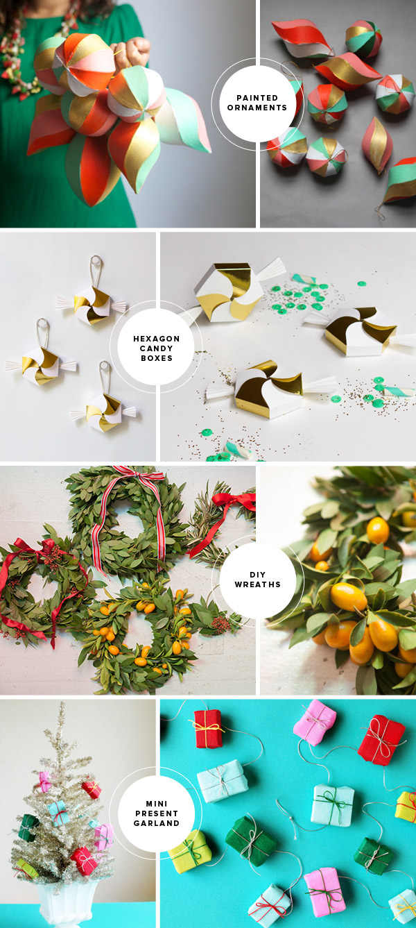 Fun Christmas DIY Ideas | Oh Happy Day!
