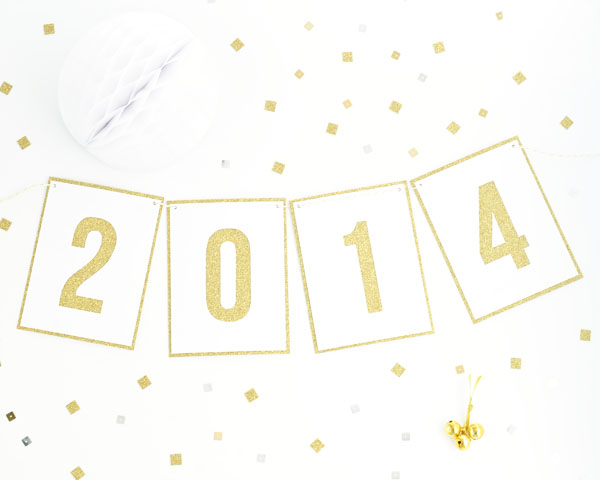 2014 Garland DIY | Oh Happy Day!