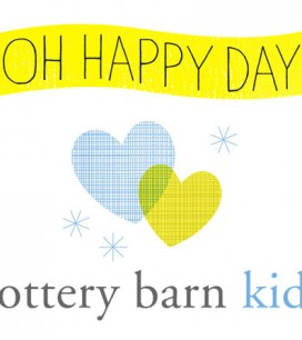 Oh Happy Day + Pottery Barn Kids